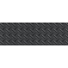 12 Inch X 36 Inch Heavy Duty Rubber Stair Tread In Black