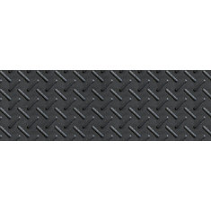 10-inch x 36-inch Heavy Duty Rubber Stair Tread in Black