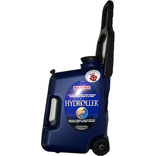 Le Hydroller � Contenant deau sur roues (8gal/30L)