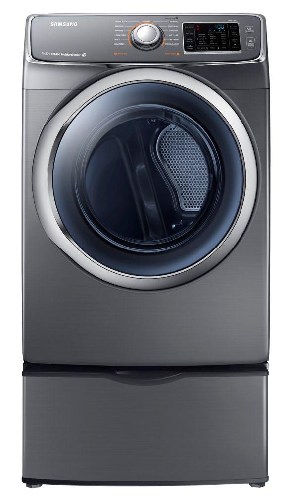 7.5 cu. ft. Electric Dryer in Onyx
