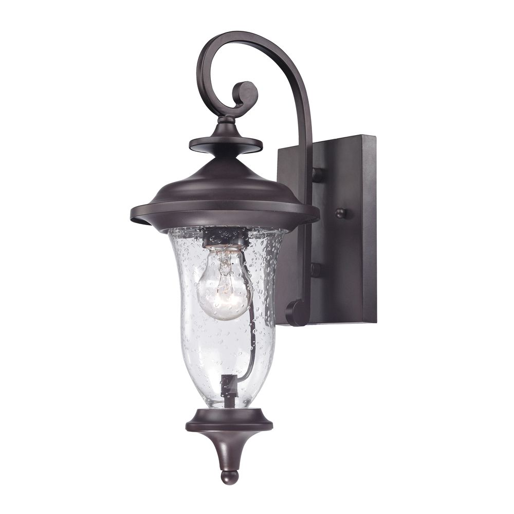 Outdoor Sconce In Oil Rubbed Bronze