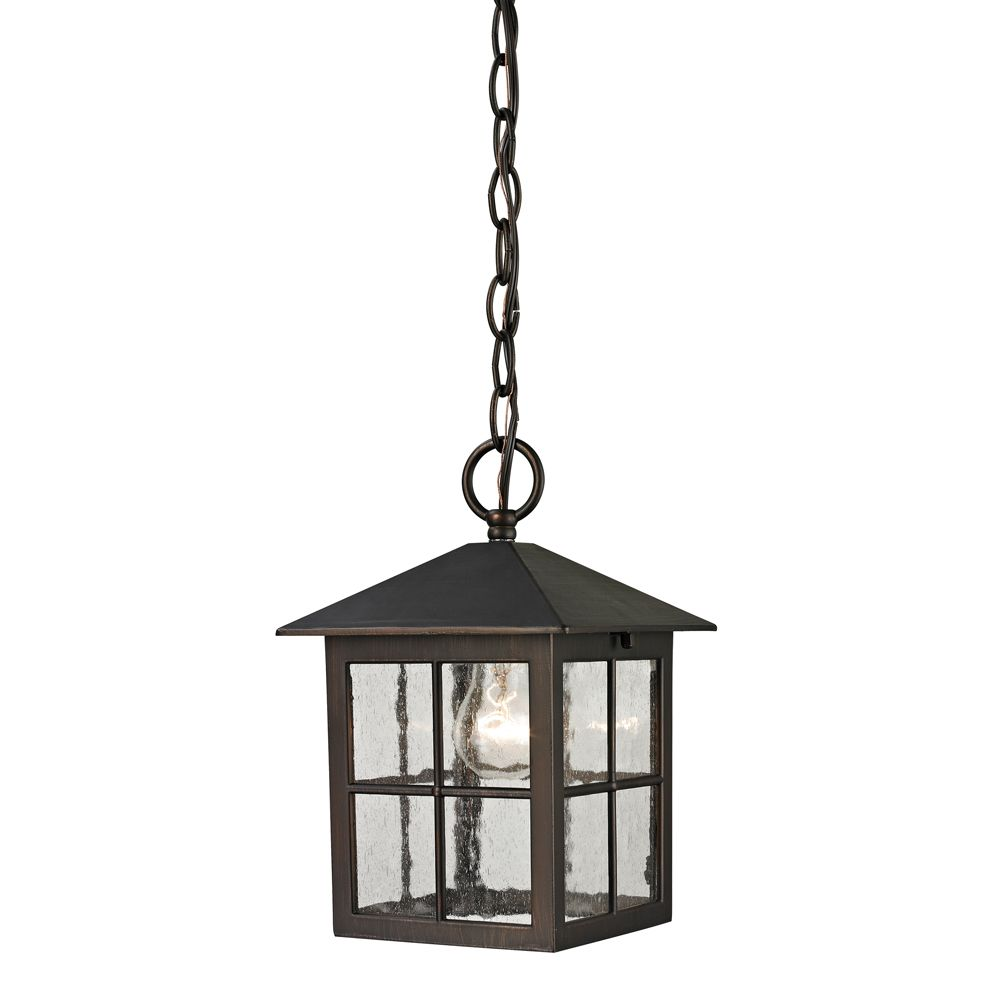 Titan Lighting Outdoor Pendant In Hazelnut Bronze