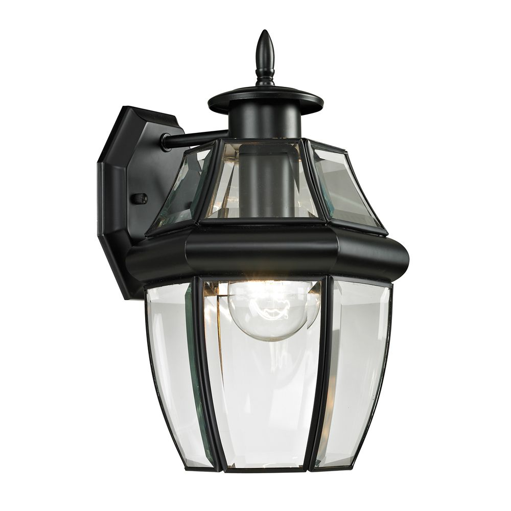Outdoor Sconce In Black