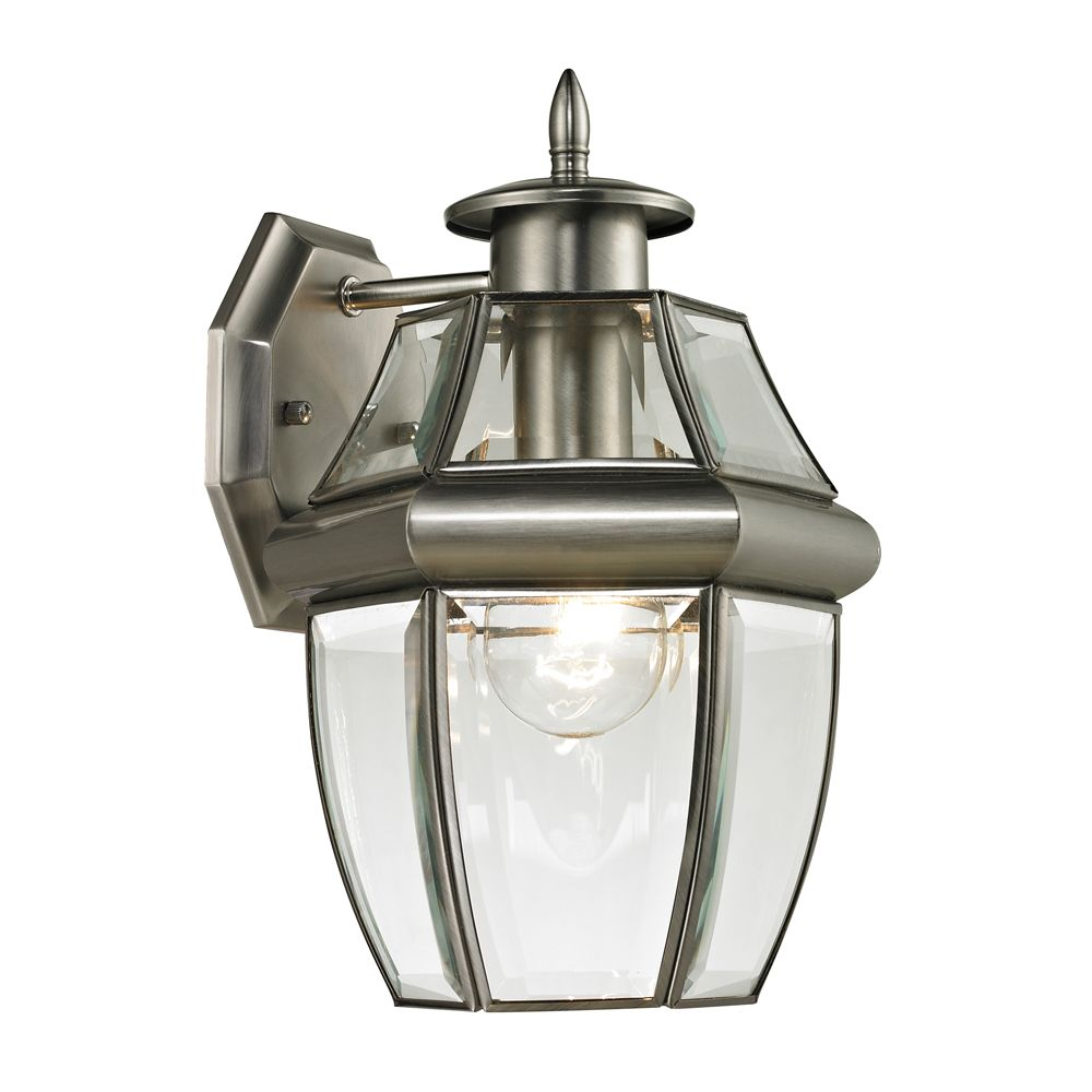 Outdoor Sconce In Antique Nickel
