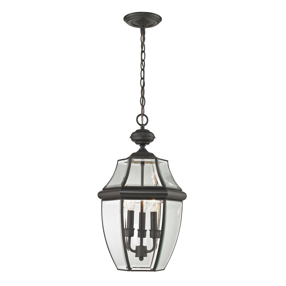 Outdoor Pendant In Oil Rubbed Bronze