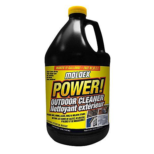Nettoyant extérieur à usages multiples Moldex<sup>®</sup> Power ! – 128 oz