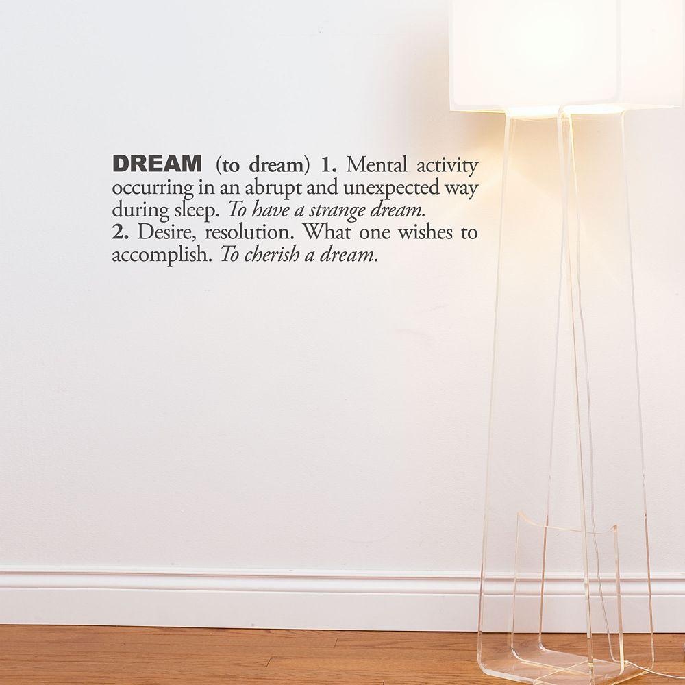 Dream (anglais)