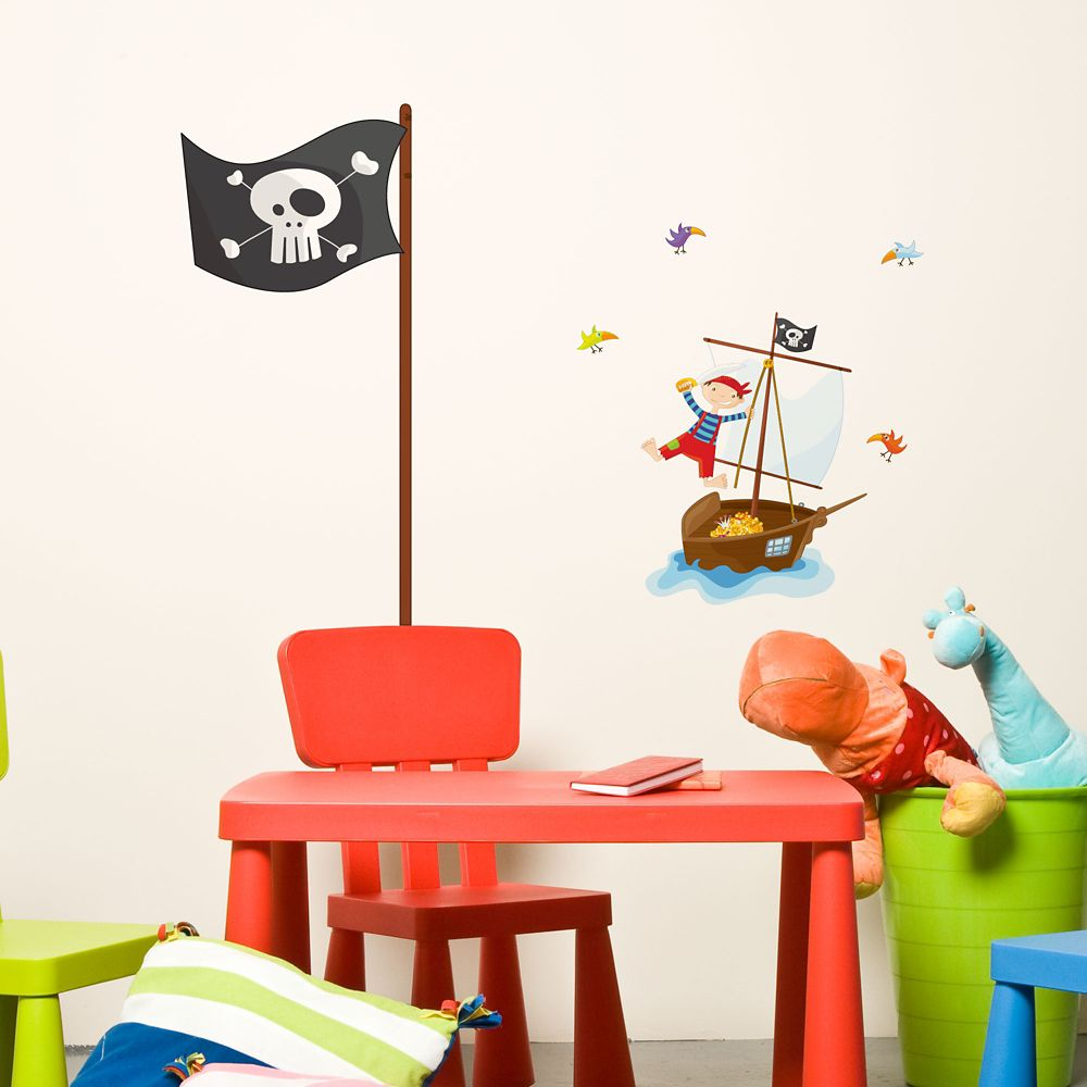 Les pirates - Le bateau