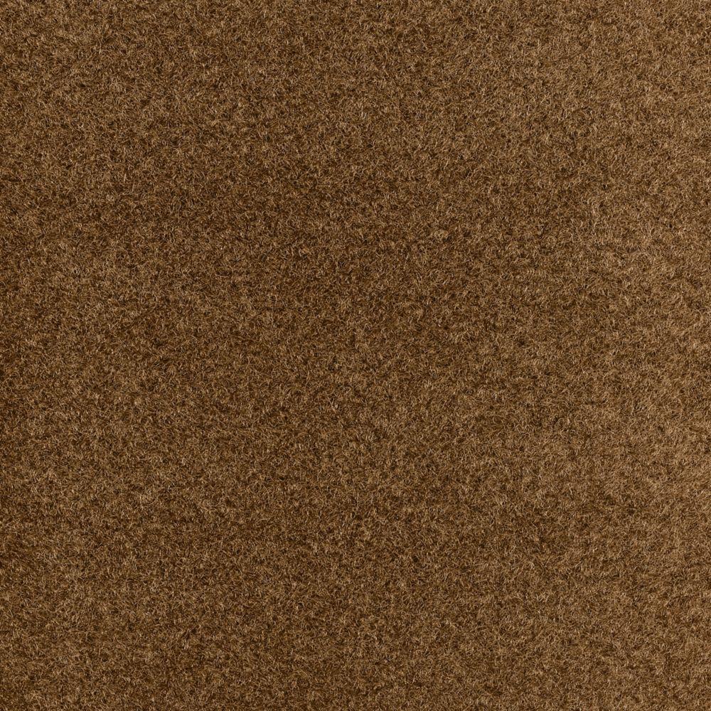 Tuile de tapis stratos 18 po. x 18 po., brun, 10 tuiles - (2,10 m2 carré par caisse)