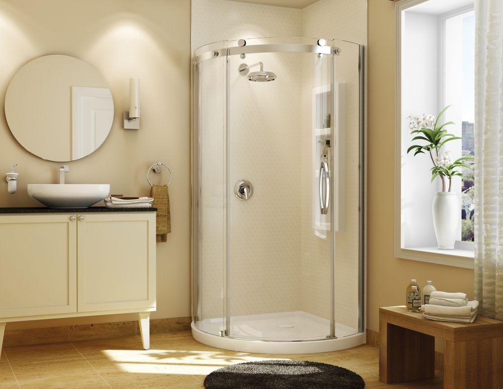 MAAX Equinox II 1-Piece Neo-Angle Shower Stall in White | The Home ...