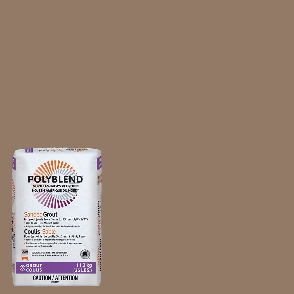Custom Building Products #105 Earth Polyblend