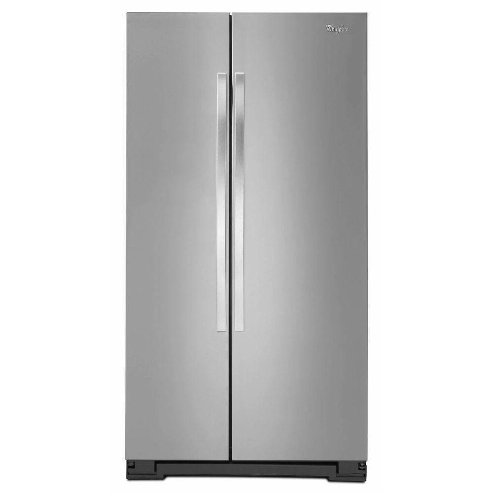 Réfrigérateur côte à côte 21 pieds cube avec éclairage à DEL - WRS322FNAM