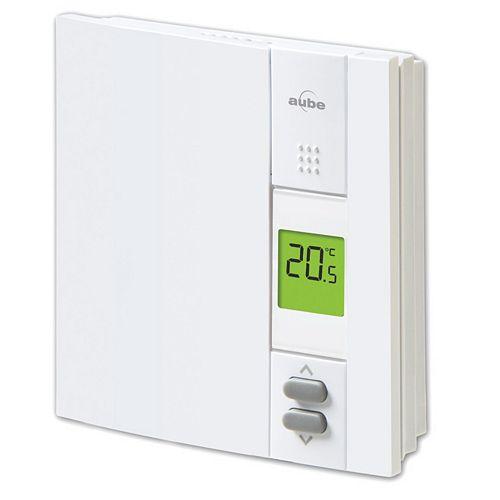 Aube Thermostat numérique non programmable pour plinthes électriques
