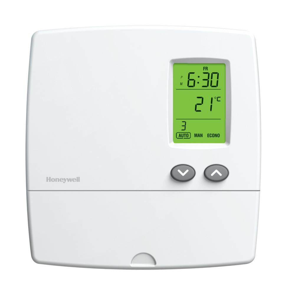 Old Honeywell Thermostats 2wire Wire Data Schema Diagram Model Th5220d1003 Download Basic Programmable Wi Fi Thermostat The Home Wiring 2