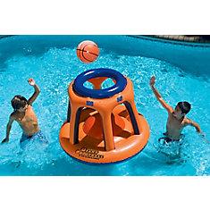 Jeu de basket gonflable Giant Shootball pour piscine