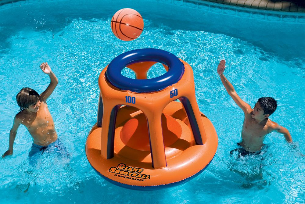 Giant Shootball Inflatable Pool Toy