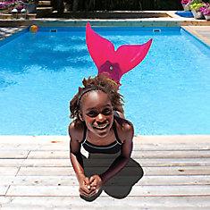 Pink Mermaid Swim Fin
