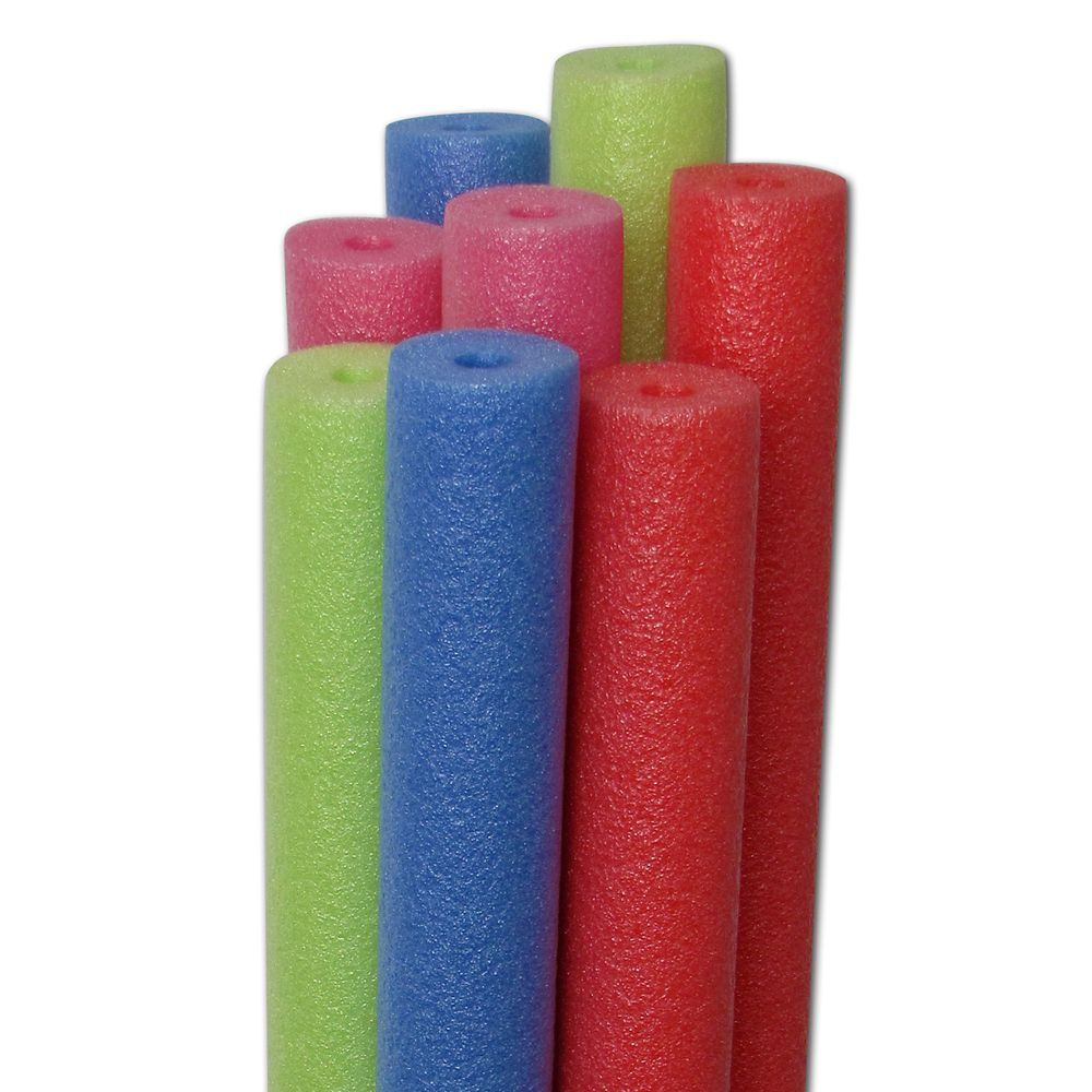 Water Log 58-inch x 2 1/2-inch Dia Noodle Pool Toy Variety Pack (20 Pack)