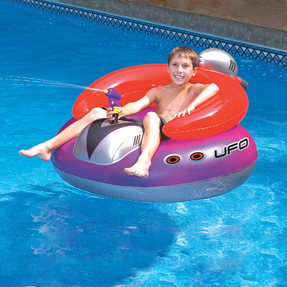 swimline ufo spaceship inflatable pool toy the home. Black Bedroom Furniture Sets. Home Design Ideas