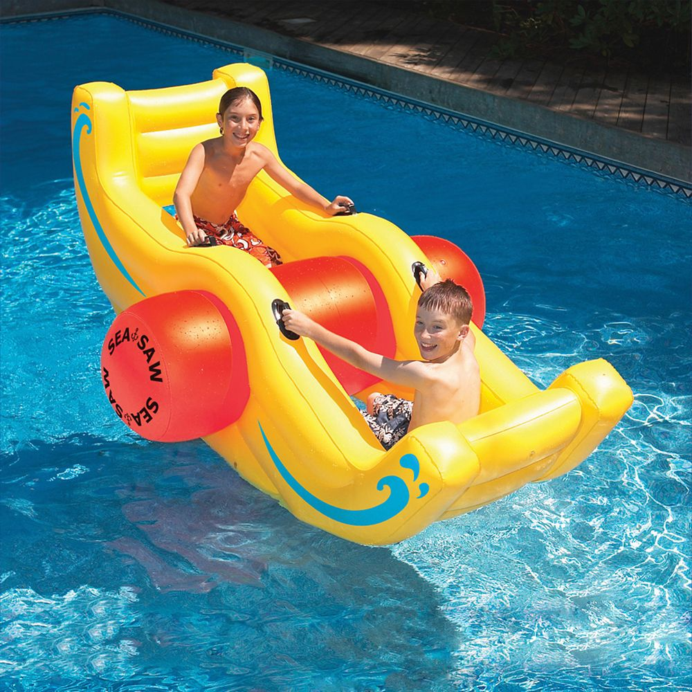 Sea-Saw Rocker Inflatable Pool Toy