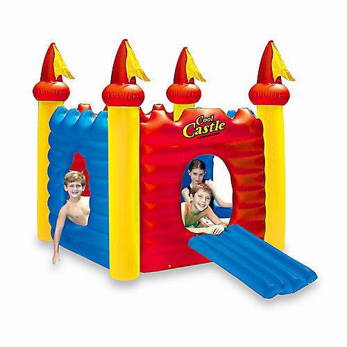 Château gonflable Cool Castle avec maisonnette pour piscine