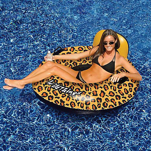 Wildthings 40-inch Cheetah Print Inflatable Pool Float