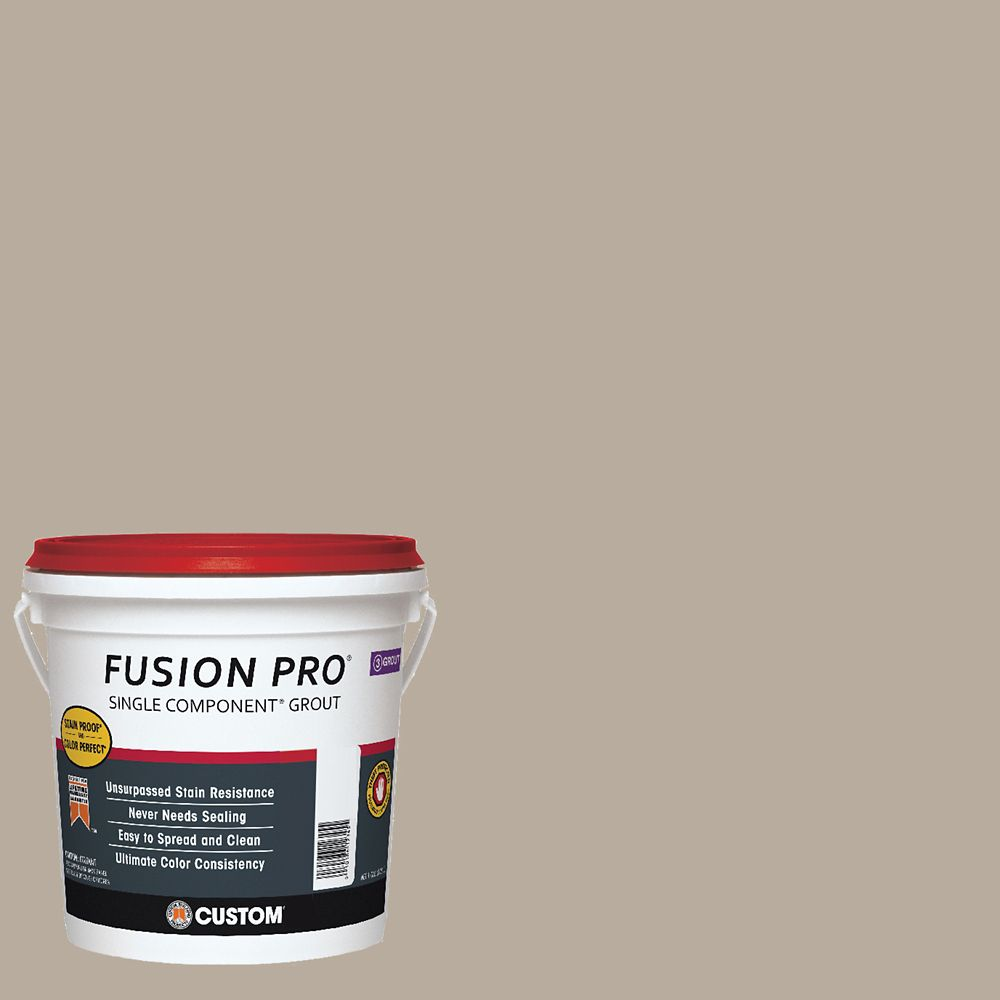 #386 Oyster Gray Fusion Pro 1gal