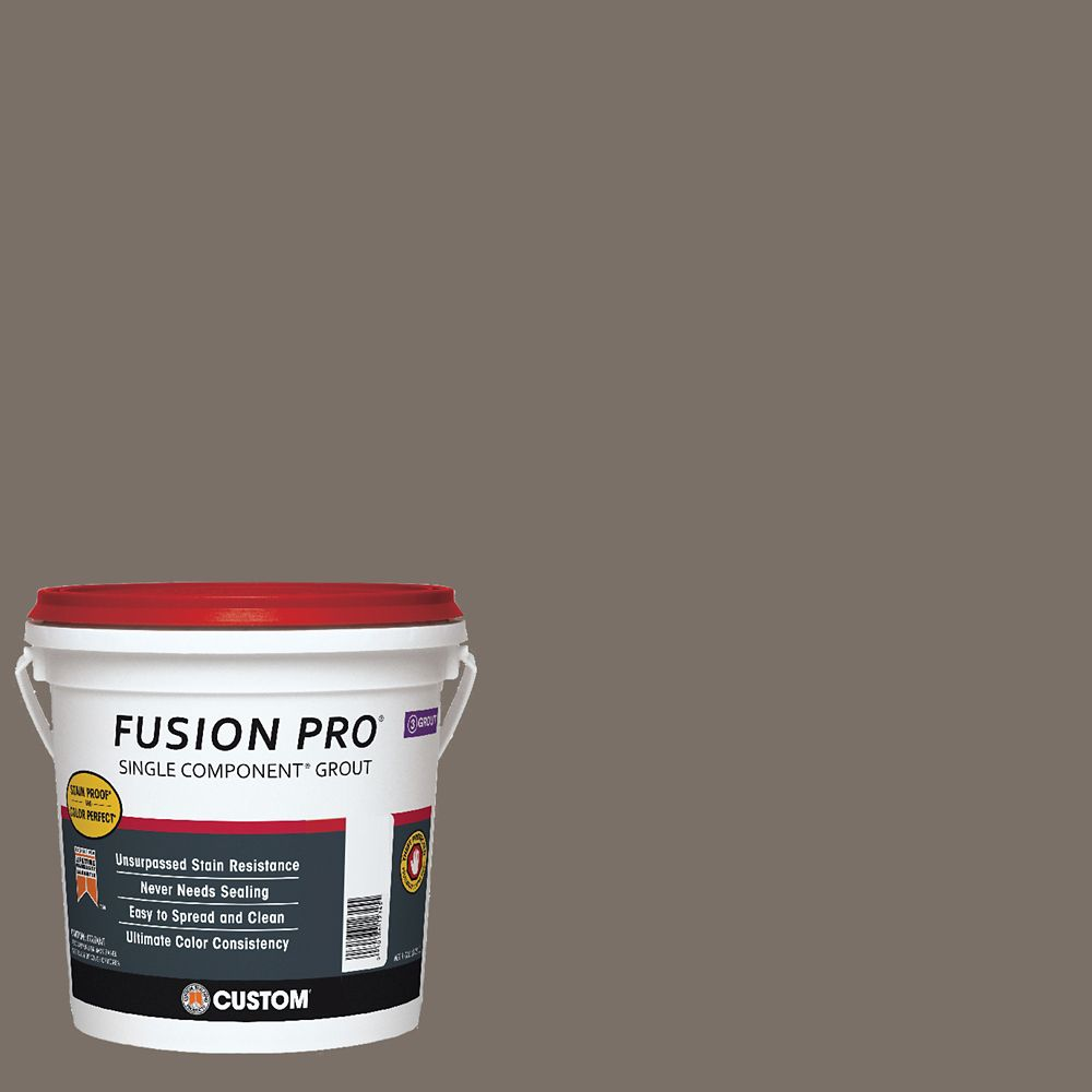 #185 New Taupe Fusion Pro 1gal