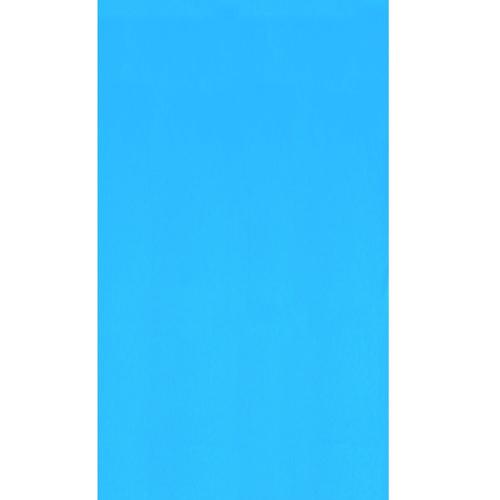 Blue 18 ft. x 33 ft. Oval Overlap Pool Liner 48/52-inch Deep