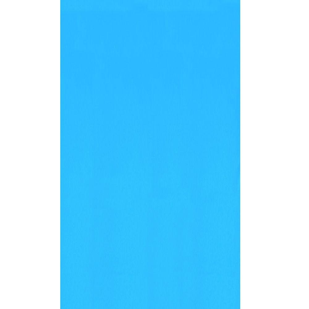 Toile à chevauchement Blue pour piscine, 7,6 m x 7,9 m, ovale, 1,21/1,33 m de haut