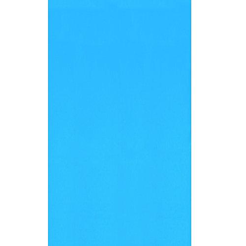 Toile à chevauchement Blue pour piscine, 7,6 m x 7,9 m (15 pi x 26 pi), ovale, 122/132 cm (48/52 po) de haut