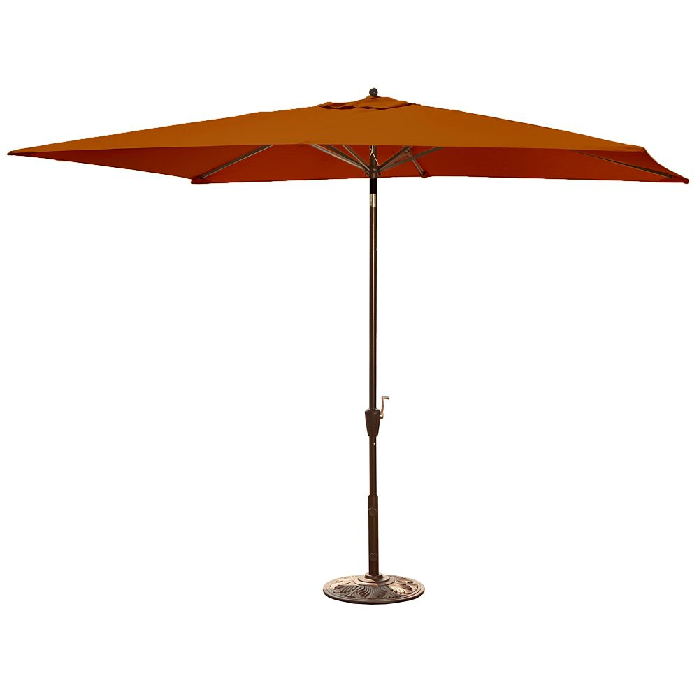 island umbrella adriatic parasol auto inclinable rectangulaire 2 m x 3 m 6 5 pi x 10pi en. Black Bedroom Furniture Sets. Home Design Ideas