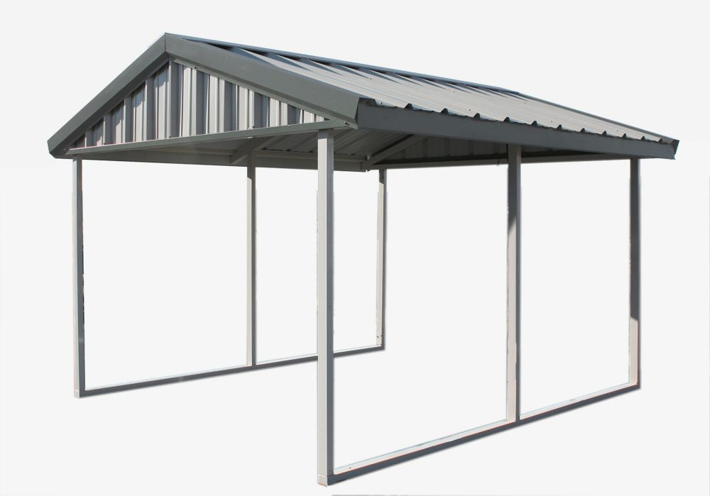 Pompano 10 39 x12 39 dark brown wall mounted sun shelter 500 for Rv shelter canada