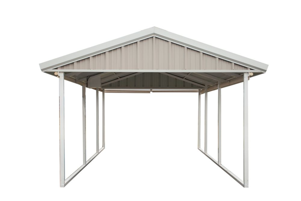 Home Depot Carport Canopy : Pws feet premium canopy carport the home