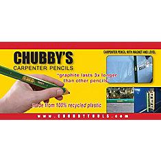 CHUBBY's Carpenter Pencils