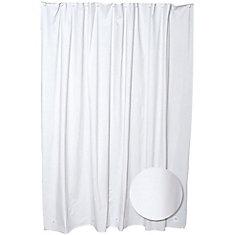70  Inch  W x 71  Inch  H PEVA Shower Liner in White