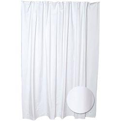 Glacier Bay 70  Inch  W x 71  Inch  H PEVA Shower Liner in White