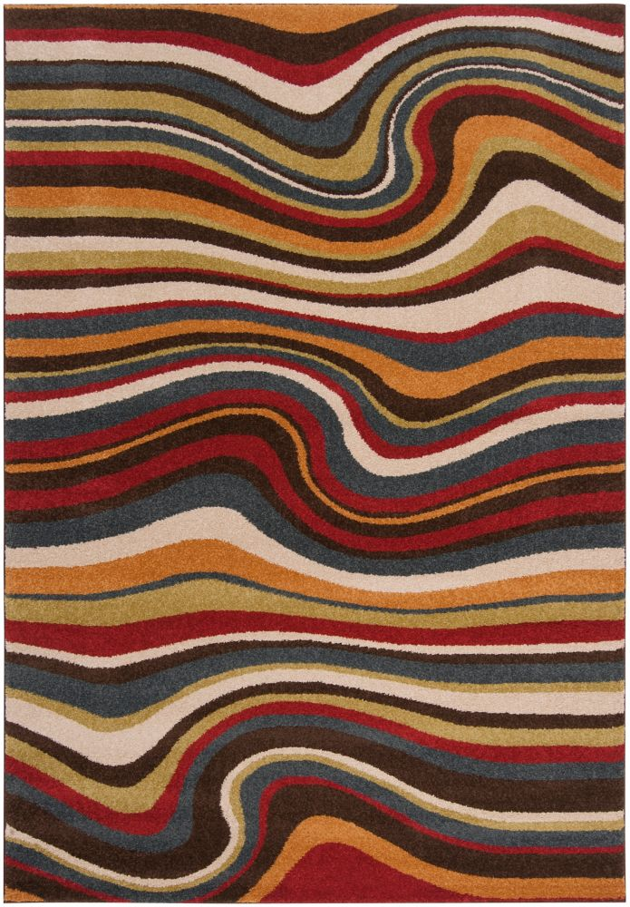 Tinaco Multi-Colour 2 ft. 2-inch x 3 ft. Indoor Transitional Rectangular Accent Rug