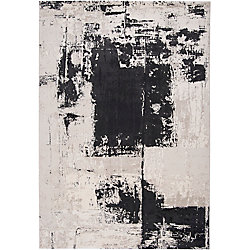 Artistic Weavers Calabozo Black 2 ft. 2-inch x 3 ft. 3-inch Indoor Contemporary Rectangular Accent Rug