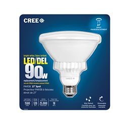 Cree LED 27 PAR38 18W Bright White