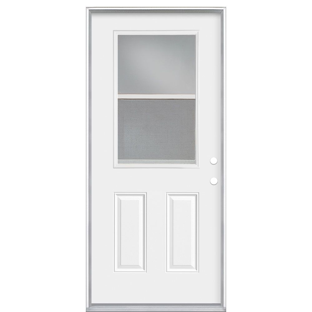 Masonite 36 inch x4-9/16 Vent Low-E Cladded LH - ENERGY STAR®