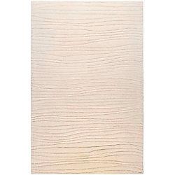 Artistic Weavers Carpette d'intérieur, 8 pi x 11 pi, style contemporain, rectangulaire, blanc cassé Mendoza