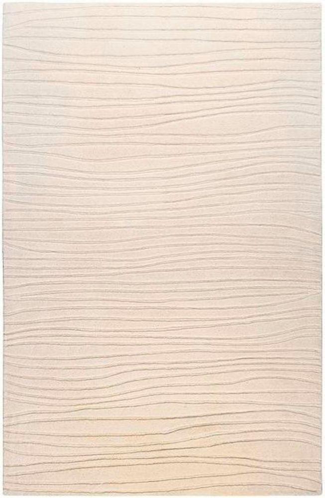 Tapis Carpette Mendoza ivoire en laine de Nouvelle-Zélande - 8 Po. x 11 Po.