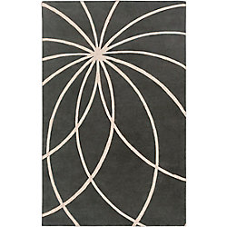 Artistic Weavers Contagem Grey 8 ft. x 11 ft. Indoor Contemporary Rectangular Area Rug