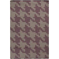 Artistic Weavers Carpette d'intérieur, 2 pi x 3 pi, style contemporain, rectangulaire, gris Sorocaba