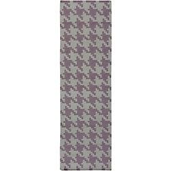 Artistic Weavers Tapis de passage d'intérieur, 2 pi 6 po x 8 pi, style contemporain, gris Sorocaba