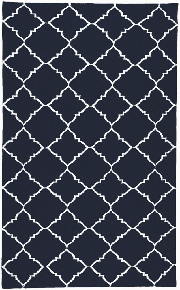 Artistic Weavers Pelotas Blue 8 ft. x 11 ft. Indoor Contemporary Rectangular Area Rug