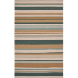 Artistic Weavers Toquia Green 8 ft. x 10 ft. Indoor/Outdoor Transitional Rectangular Area Rug
