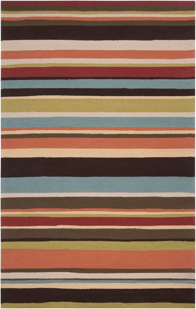 Artistic Weavers Carzia Red 8 ft. x 10 ft. Indoor/Outdoor Transitional Rectangular Area Rug