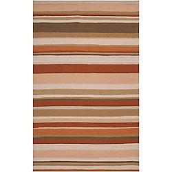 Artistic Weavers Tapis de passage d'intérieur/extérieur, 8 pi x 10 pi, style transitionnel, rectangulaire, havane Yapate
